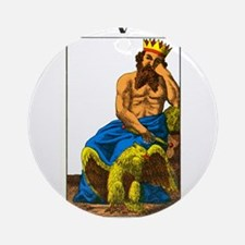 tarot card Round Ornament