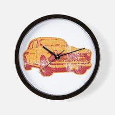 old car Wall Clock