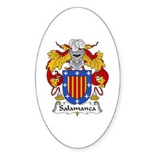 Salamanca Oval Decal