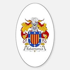 Salamanca Oval Decal