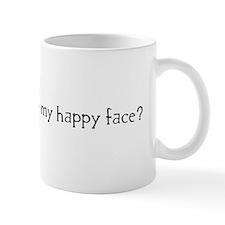 doesthislookhappyblack Mugs