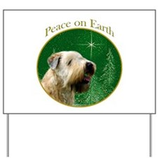 Wheaten Peace Yard Sign