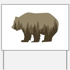 Grizzly Trees Yard Sign