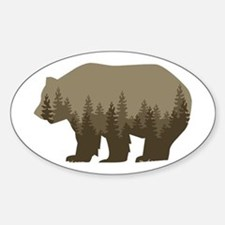 Grizzly Trees Decal