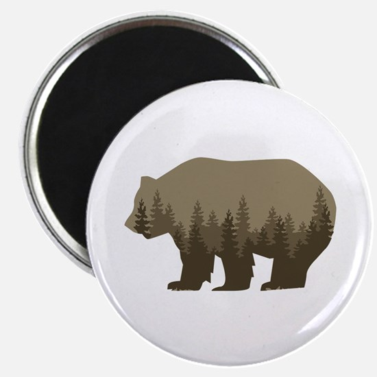 Grizzly Trees Magnets
