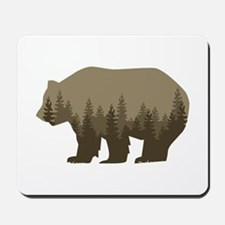 Grizzly Trees Mousepad