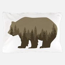 Grizzly Trees Pillow Case