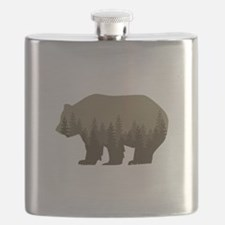 Grizzly Trees Flask