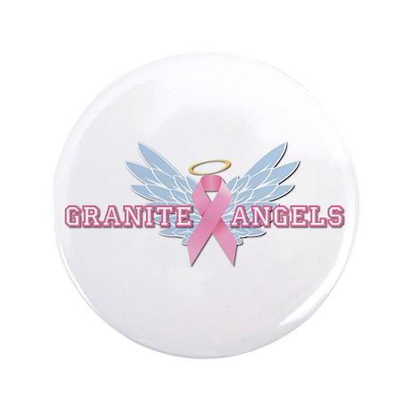 "Granite Angels 3.5"" Button"