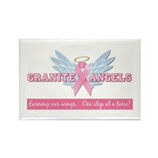 Granite Angels Rectangle Magnet
