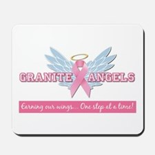 Granite Angels Mousepad