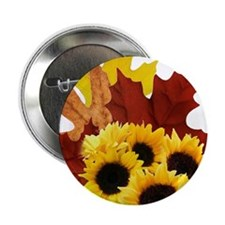 Fall Bouquet Button
