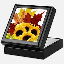 Fall Bouquet Tile Box