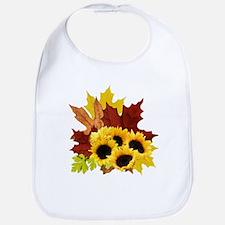 Fall Bouquet Bib