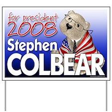 Colbear 2008 Yard Sign