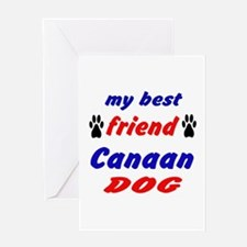 My best friend Canaan Dog Greeting Card