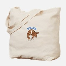 Toller Puppy Tote Bag