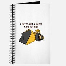 Never Met A Dozer Journal