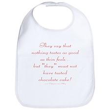Chocolate Diet Bib
