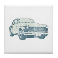 old car Tile Coaster