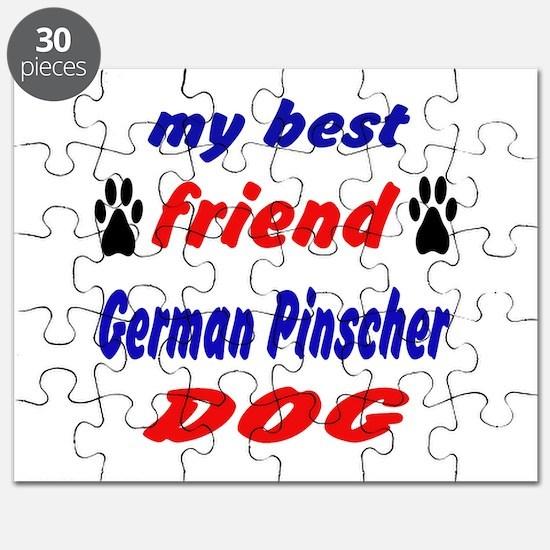 My best friend German Pinscher Dog Puzzle
