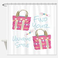 Unique Style Shower Curtain