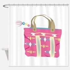 Tote Bag Shower Curtain