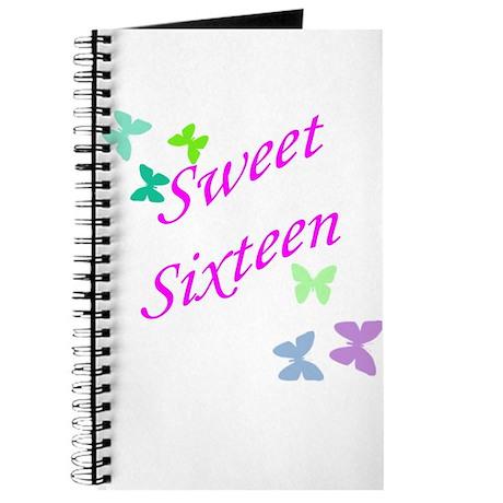 Sweet 16 butterflies Journal