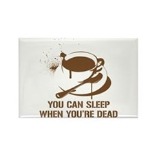 coffee sleep Rectangle Magnet