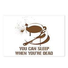 coffee sleep Postcards (Package of 8)