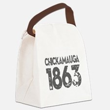 1863 Chickamauga Canvas Lunch Bag