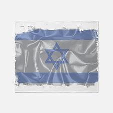 Israel Silk Flag Throw Blanket