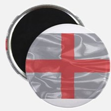 Silk Flag of England and Saint George Magnets
