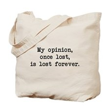 My Opinion - Mr. Darcy Tote Bag