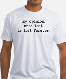 My Opinion - Mr. Darcy Shirt