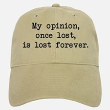 My Opinion - Mr. Darcy Baseball Baseball Cap