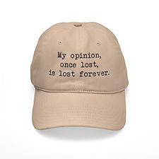 My Opinion - Mr. Darcy Baseball Cap