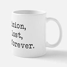 My Opinion - Mr. Darcy Mug