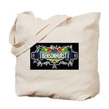 Bensonhurst (Black) Tote Bag