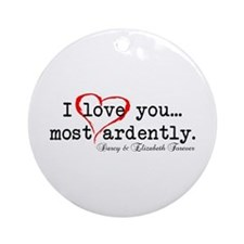 Most Ardently 2 - Mr. Darcy Ornament (Round)