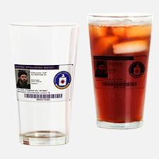 Fbi seal Drinking Glass