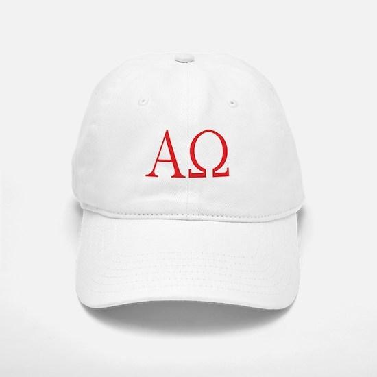 Alpha Omega Baseball Baseball Cap