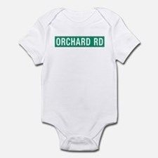 Orchard Rd, Street Sign, Singapore Infant Bodysuit