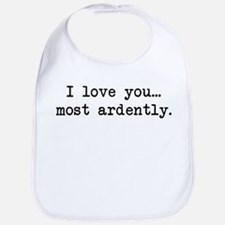Most Ardently - Mr. Darcy Bib