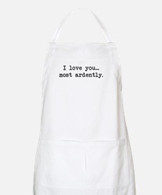 Most Ardently - Mr. Darcy BBQ Apron