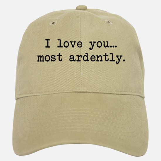 Most Ardently - Mr. Darcy Baseball Baseball Cap