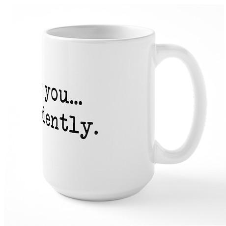 Most Ardently - Mr. Darcy Large Mug