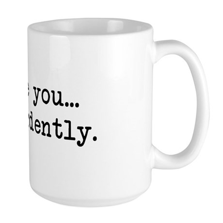 Most Ardently - Mr. Darcy Large Mug