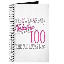100th Birthday Gift Journal