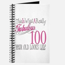 100th Birthday Gift Journal